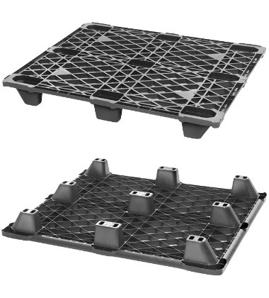 CPP100/PE Plastic Pallet - Photo 1