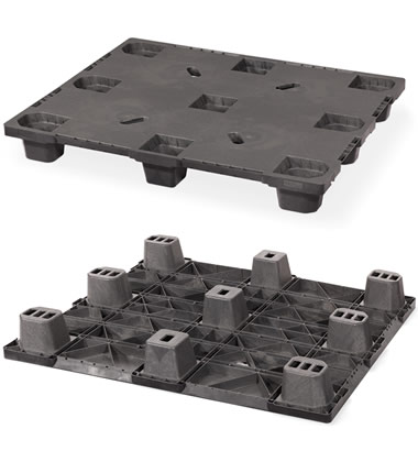CPP320-C/PE Plastic Pallet - Photo 1
