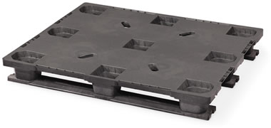 CPP323-C/PE Plastic Pallet - Photo 2