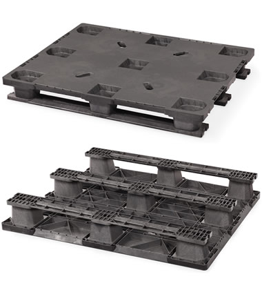 CPP323-C/PE Plastic Pallet - Photo 1