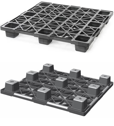 CPP440/PE Plastic Pallet - Photo 1