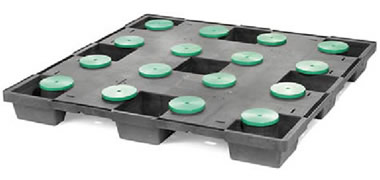 CPP630-CDRUM/PE Plastic Pallet - Photo 2