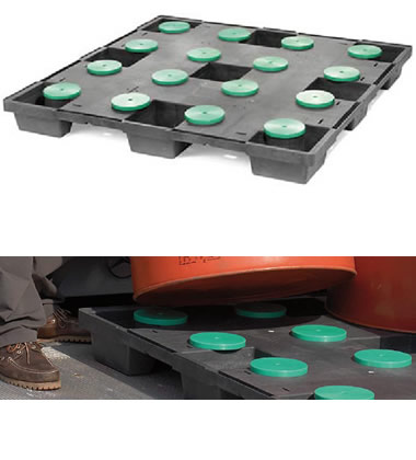 CPP630-CDRUM/PE Plastic Pallet - Photo 1