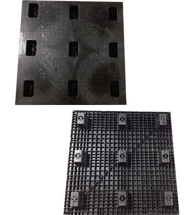 Plastic Pallets - 48x48 CT4848N-48SQCD-C Nestable Plastic ...