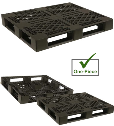 DE4840FP-RACX Plastic Pallet - Photo 1