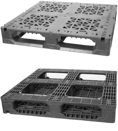 GL-3737-FP-37Square Plastic Pallet - Photo 1