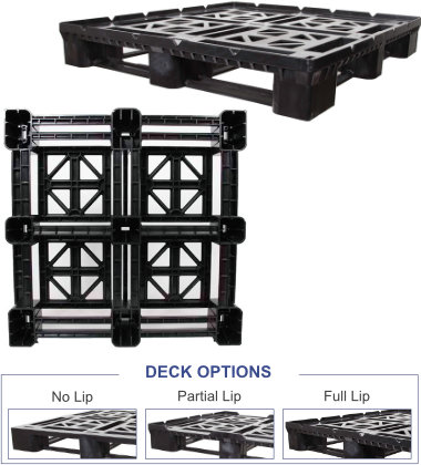 GL-4845-FP-SPL4845 Plastic Pallet - Photo 1