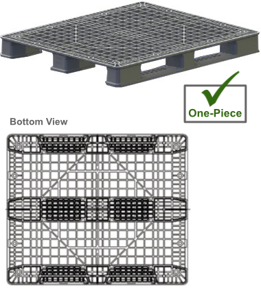 NPP-4840-3R-PSG5.1 Plastic Pallet - Photo 1