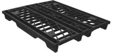 NPP-4840-N-RackNest Plastic Pallet - Photo 2