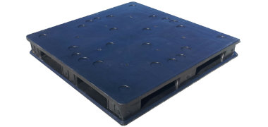 solid top plastic pallets. sq4848-rrb plastic pallet solid top pallets a