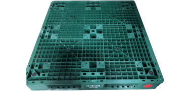 UP-1111-FP-HO4Green Plastic Pallet