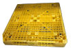 Plastic Pallet - UP-1111-FP-HO4Yellow