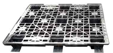 UP-1210-3R-PlastPana3Run Plastic Pallet