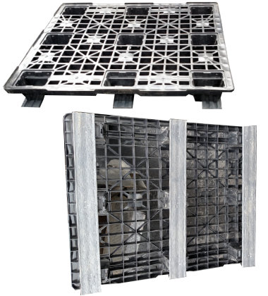 UP-1210-3R-PlastPana3Run Plastic Pallet - Photo 1