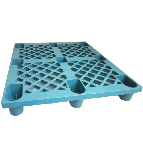 UP-1210-N-PEBLUE Plastic Pallet - Photo 1