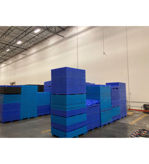 UP-1210-N-PEBLUE Plastic Pallet - Photo 4