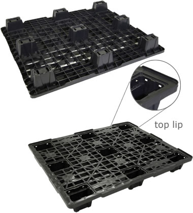 UP-1210-N-PlastPanaLip Plastic Pallet - Photo 1