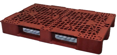 UP-1280-3R-150mm25lbs Plastic Pallet