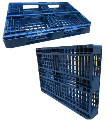 UP-1280-FP-20lbs Plastic Pallet - Photo 1