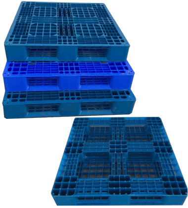 UP-3939-FP-Blue23lbs Plastic Pallet - Photo 1