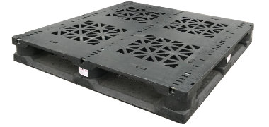 UP-4743-FP-3Rod67Lbs Plastic Pallet