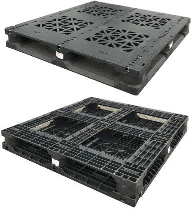 UP-4743-FP-3Rod67Lbs Plastic Pallet - Photo 1