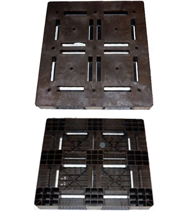 UP-4743-FP-PE Plastic Pallet - Photo 1