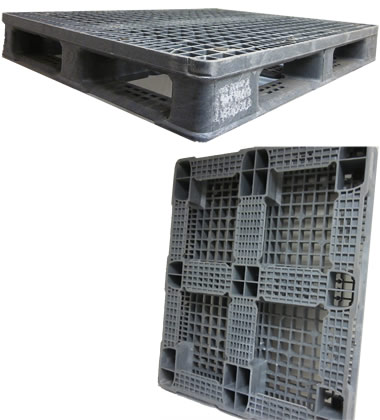 UP-4840-FP-OrbiRCKO Plastic Pallet - Photo 1