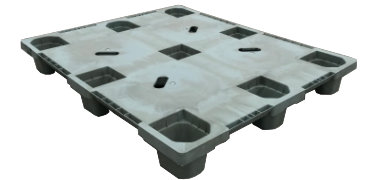 UP-4840-N-320ACMCD Plastic Pallet - Photo 2