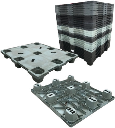 UP-4840-N-320ACMCD Plastic Pallet - Photo 1