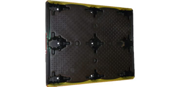 UP-4840-N-ShuertUni Plastic Pallet - Photo 2