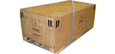 NWC-CRSP-IC Closed Panel Wooden Shipping Crate with Internal Cleats